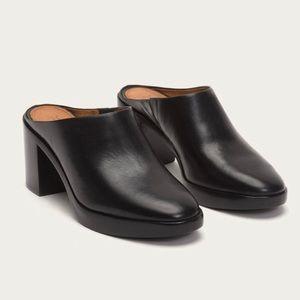 Frye Joan Campus Mule 8.5 NEW black leather